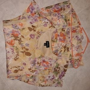 Beautiful Kathy Roberts Floral Dress size 10